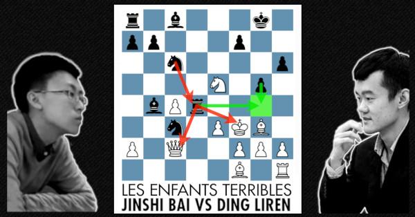 The Chinese Immortal Jinshi Bai Vs Ding Liren Free Chess Course