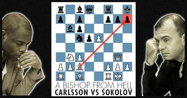 Chess Video Carlsson Vs Sokolov Free Chess Course
