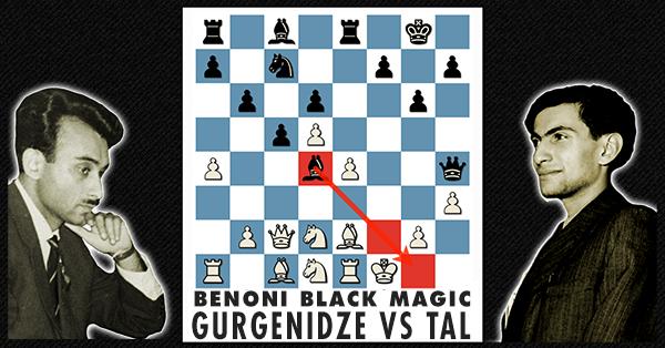 Gurgenidze Vs Tal Online Chess Course