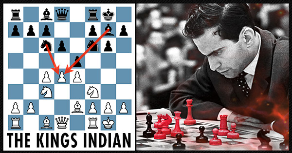 Mikhael Tal Plays The Indian Defence