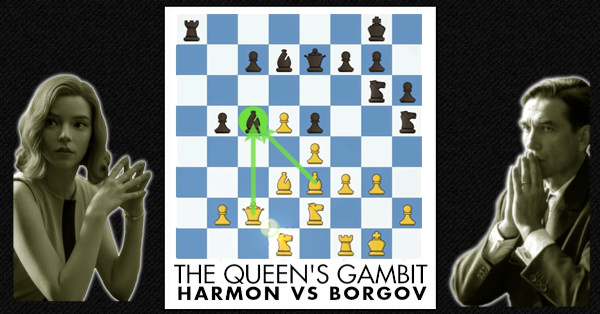 Hanon Vs Borgov Queen S Gambit