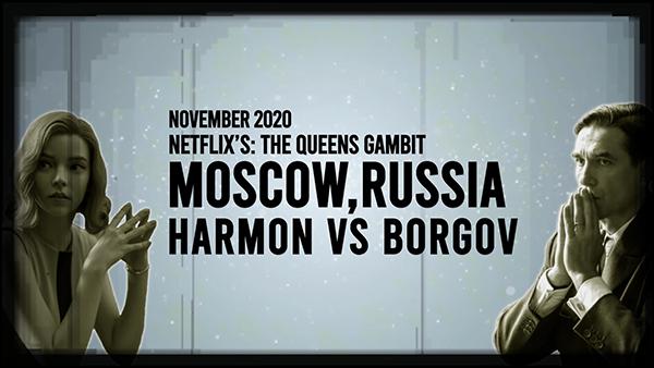 Harmon Vs Borgov Online Chess Course