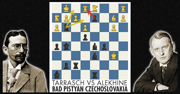 Blumenfeld Gambit Tarrash Vs Alekhine Free Chess Lesson
