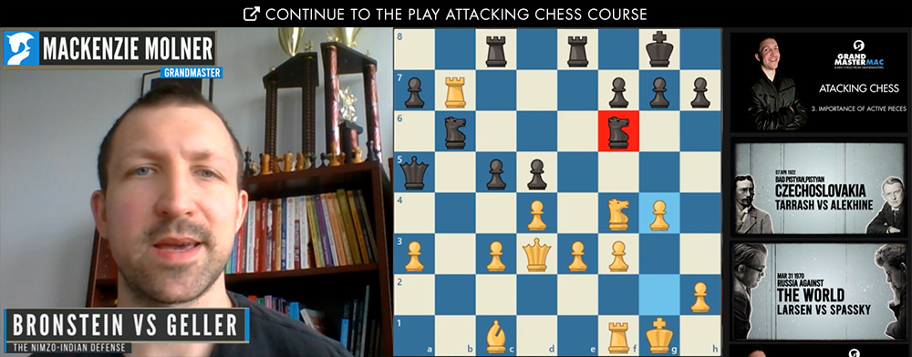 Attacking Chess Online Chess Course And Free Chess Lessons