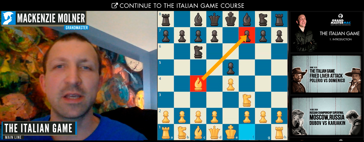 Italian Game Online Chess Course