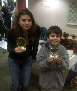 Chess Class Students Receive Medal