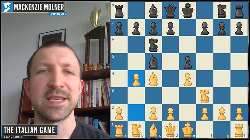 italian evans gambit