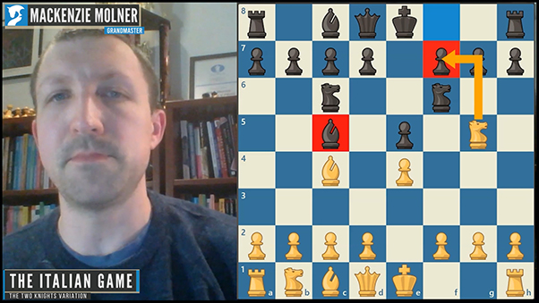two knights variation chess lesson