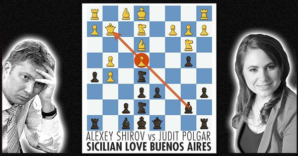 Shirov Polgar Sicilian Defense