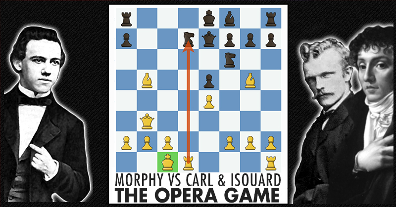 Free Chess Lesson Morphy Vs Karl & Isouard