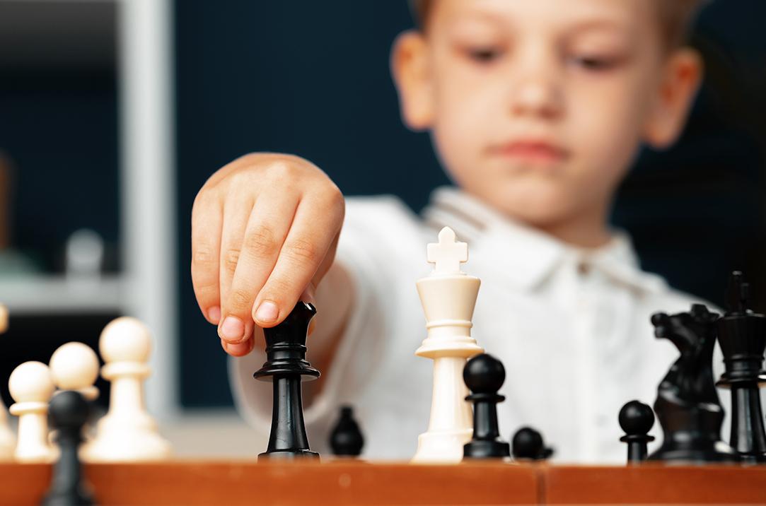 Young Grandmaster Chess Player